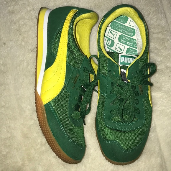 Puma Shoes | Puma Greenyellow Tennis